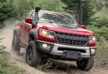 กระบะChevrolet Colorado ZR2 Bison 2019